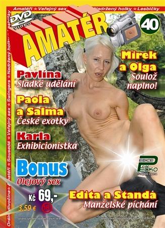 Obrázek DVD Edice Péčko AMATÉR 40