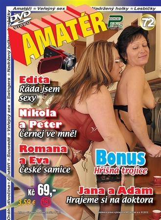Obrázek DVD Edice Péčko Amatér 72