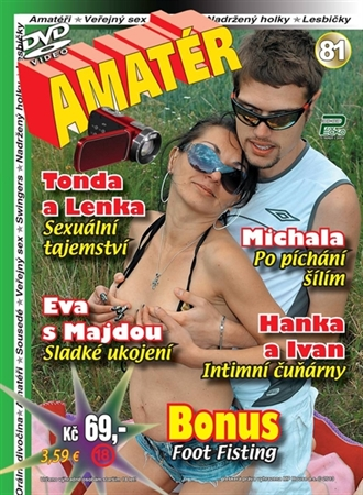 Obrázek DVD Edice Péčko Amatér 81