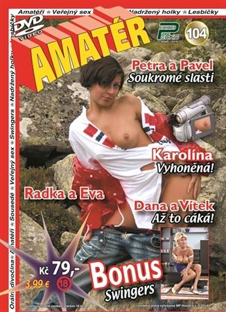 Obrázek DVD Edice Péčko Amatér 104