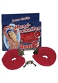 Pouta Handschellen - červená